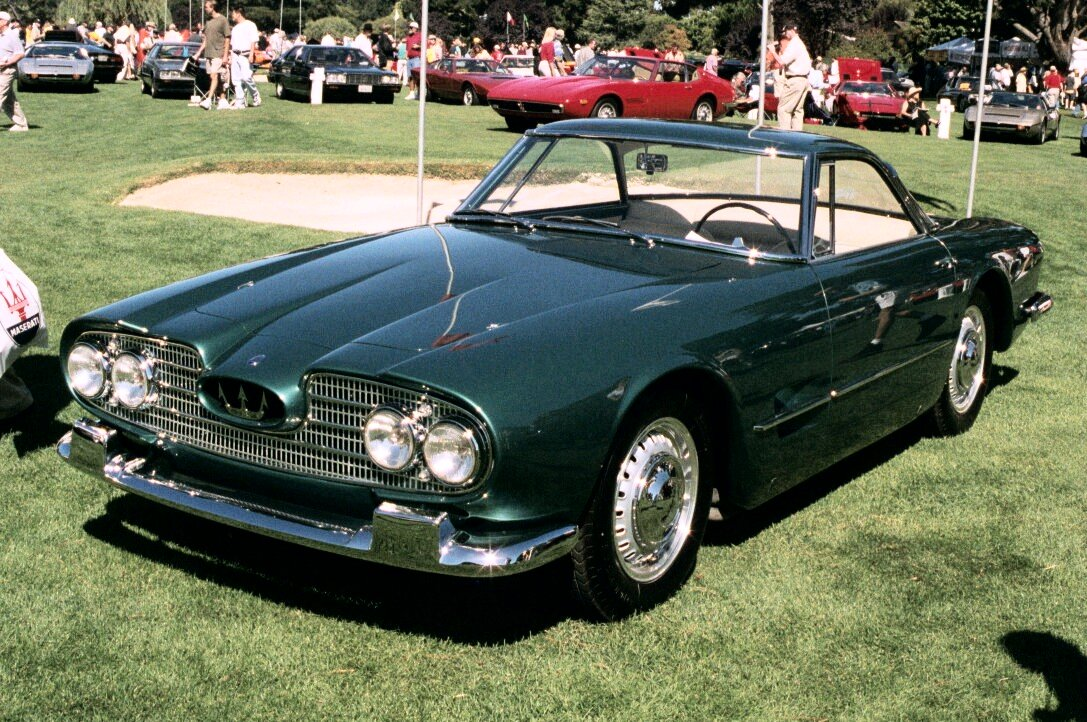 Maseratis At Concorso Italiano 2000